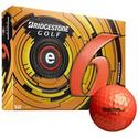 e6 Orange Golf Balls - 2013