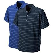 Performance Micro Pique Stripe Polo