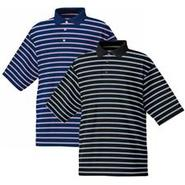 Stretch Lisle Pique Stripe Shirt- 2012
