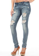 Revolt Destructed Skinny Jean
