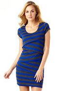 Joanne Striped Dress