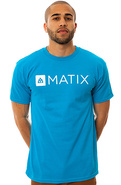 Men's The Monolin Tee in Turquoise, T-shirts