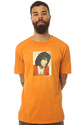 Men's The MJ Hot Mess Premium Tee in Burnt Orange,