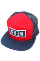 Men's The Seed 2 Patch Trucker Hat in Red, Hats