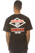 Men's The Deezeetee Boys Tee in Black, T-shirts