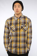 Men's The L-Classico Buttondown in Warrior Yellow,