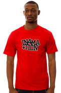 Men's The League Tee in Red, T-shirts