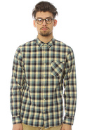 Men&#39;s The Lucky Man LS Buttondown Shirt in Blue , 