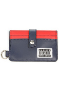 Men's The RS Card Wallet in Navy & Red, Wallets