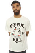 Men&#39;s The Hard To Kill Tee in White, T-shirts