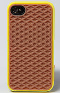 Men's The Vans iPhone 4 Case in Yellow, Accessorie