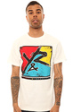 Men's The Color Blocked Tee in White, T-shirts