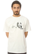 Men&#39;s The Tonal Panda Tee in White, T-shirts