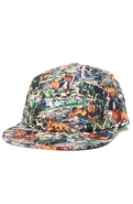 Men's The Big Game Camper Cap in Multi, Hats