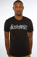 Men&#39;s The One Liner Tee in Black, T-shirts