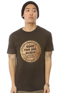 Men&#39;s The Good For One Tee in Graphite, T-shirts