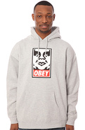 Men's The OG Face Sweatshirt in Heather Grey, Swea