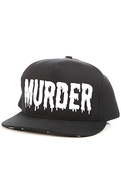 Men&#39;s The Murder Hat in Black and White, Hats