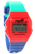 Men&#39;s The Flava Watch in Red, Green, &amp; Blue, Watch