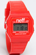 Unisex's The Flava Watch in Red, Watches