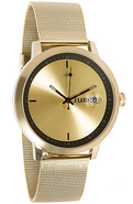 Men&#39;s The World Class Watch in Gold &amp; Black, Watch