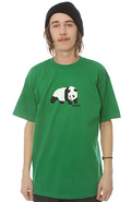 Men&#39;s The Original Panda Tee in Kelly Green, T-shi