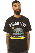 Men's The Cultivated Tee in Black & Yellow, T-shir