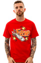 Men&#39;s The F Bomb Tee in Red, T-shirts