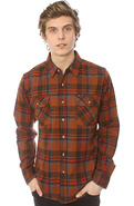 Men's The Raymond Buttondown Shirt in Brown, Butto