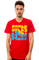 Men's The Power Money Sex Tee in Red, T-shirts