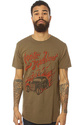 Men&#39;s The Hot Rod Tee in Army, T-shirts