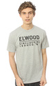 Men's The Logo 12 Tee in Heather Grey, T-shirts