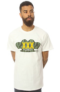 Men&#39;s The XXX Inc Tee in White, T-shirts