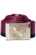 Men&#39;s The Tableturn Belt in Gold, Red, &amp; Black, Be