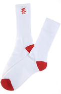 Men's The Ordained Socks in Red, Socks