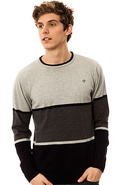 Men's The Syrius Sweater in Navy, Sweaters