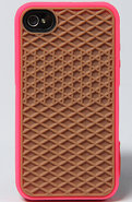 Men's The Vans iPhone 4 Case in Magenta, Accessori