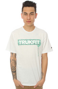Men's The Trukfit Star Drip Tee in White, T-shirts