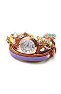 Women's The Bengal Crystal & Stones Wrap Watch, Wa