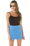 Women's The Outta Sight Mini in Turquoise, Skirts