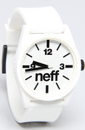 Unisex's The Daily Watch in White, Watches