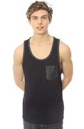 Men's The Union Tank in Indigo, Tank Tops