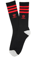 Men's The Originals Roller Crew Socks in Black, Li