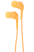 Unisex's The Daily Ear Buds in Orange, Headphones