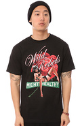 Men&#39;s The Wild Rebels Tee in Black, T-shirts