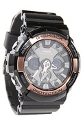 Men's The GA 200 Watch in Black & Rose Gold, Watch