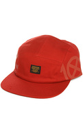 Men&#39;s The Ironside Navigator 5 Panel Hat in Red, H
