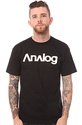 Men's The Analogo Tee in Black, T-shirts