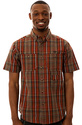 Men&#39;s The Jefferson S/S Buttondown Shirt in Tan, B