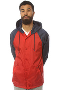 Men's The Trader Jacket in Red & Navy, Jackets